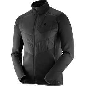 Salomon Pulse Warm Running Jacket Men black